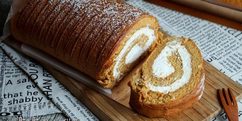 台南仁德 網路人氣甜點工作室,歐牧純生乳蛋糕捲。『謝謝日法甜點』|台南甜點|台南下午茶|