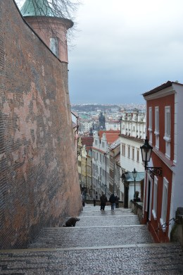 Streets in rain - Europe