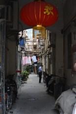Clothes on hanger - Shanghai