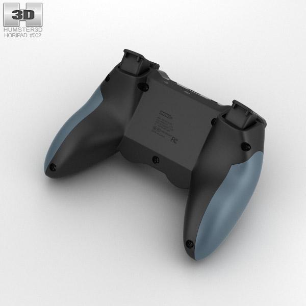 Horipad Ultimate Wireless Game Controller 3D Model Hum3D