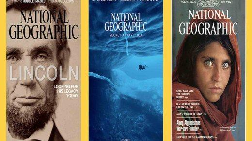 Журналу National Geographic исполнилось 130 лет. Видео всех обложек