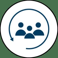Blue/White User Conversation
