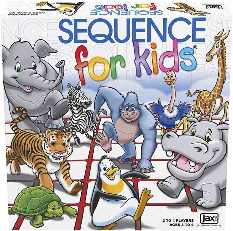 Jax 035261080041 Sequence Kids Game