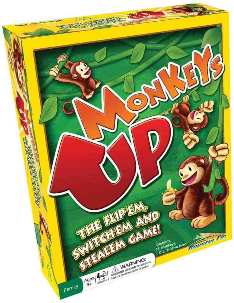 Monkeys Family Board Game Educational