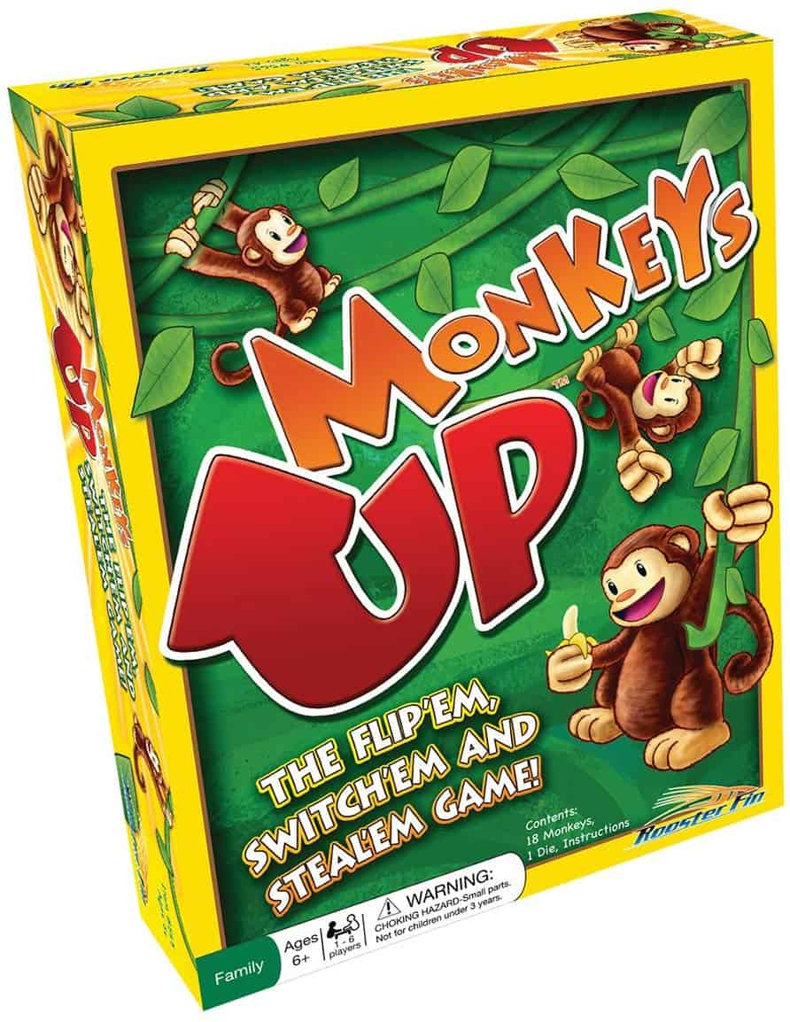 Monkeys Family Board Game Educational