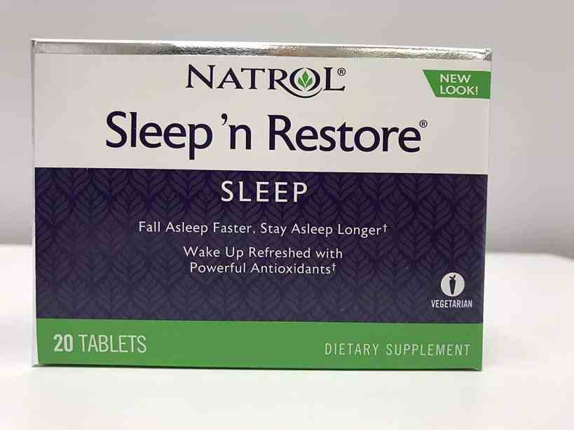 Natrol Sleep Restore Support Tablets