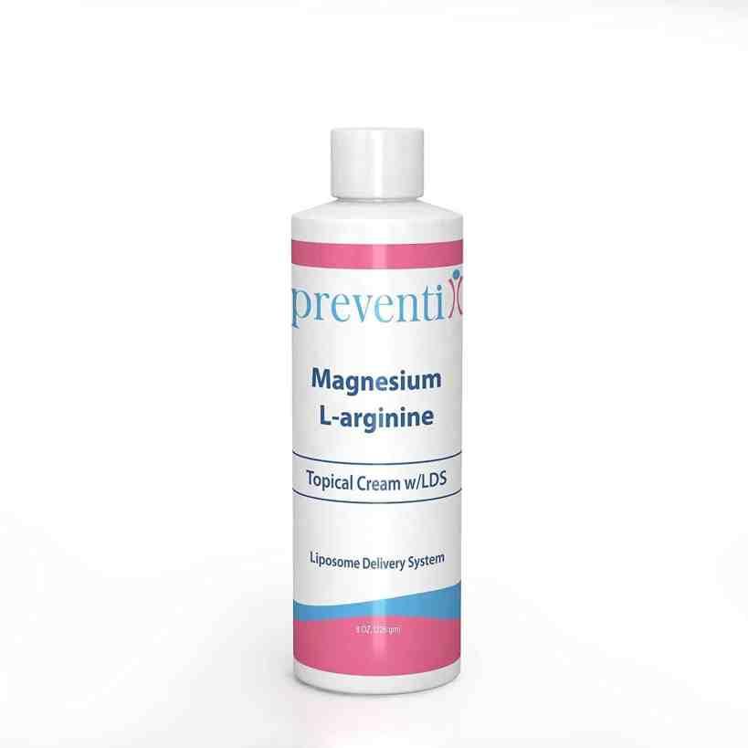 Liposomal Magnesium & L-arginine cream