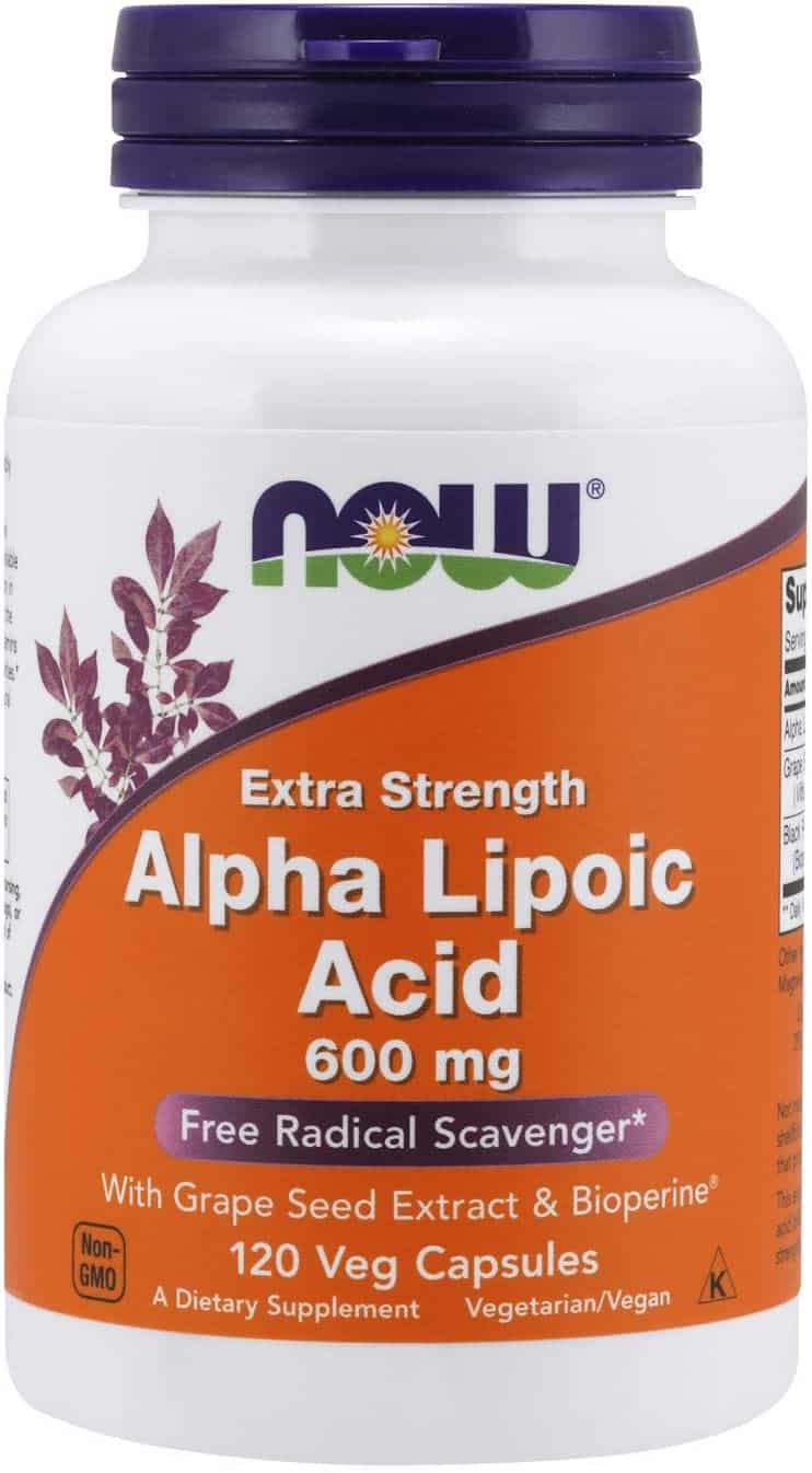 Now Supplements Alpha Lipoic Acid