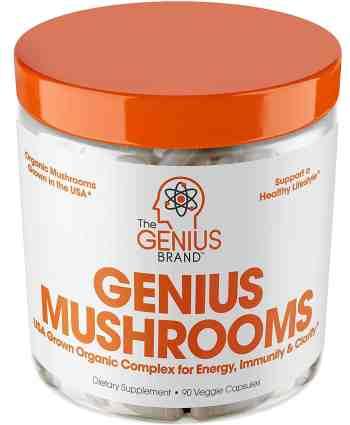 Genius Mushroom Nootropic Brain Supplement