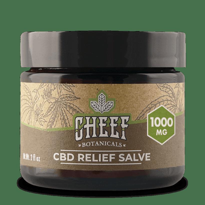 Cheef Botanicals Salve CBD Cream