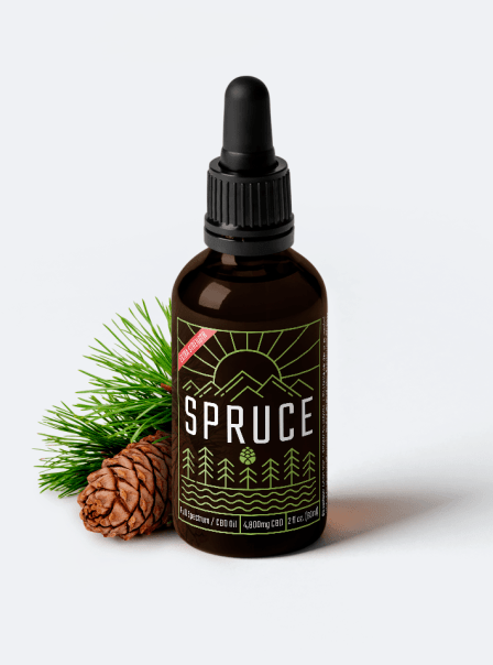 Spruce 4,800MG LAB GRADE CBD OIL