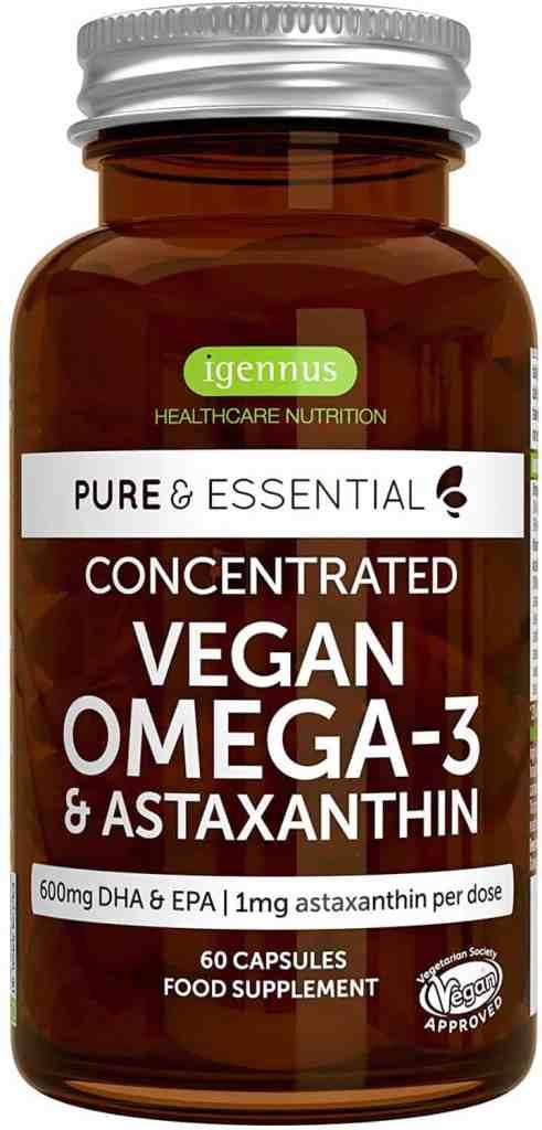 Igennus Vegan Omega-3 600mg