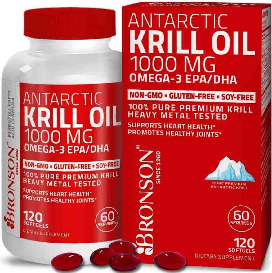 Bronson Antarctic Krill Oil 2000mg
