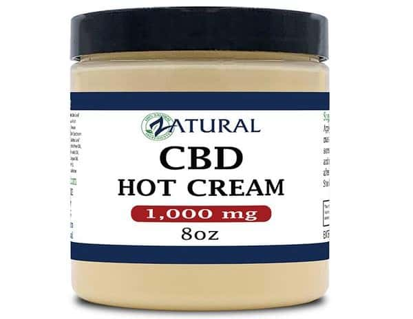 Zatural CBD Topicals Hot Cream