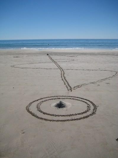 Beach doodlings 1