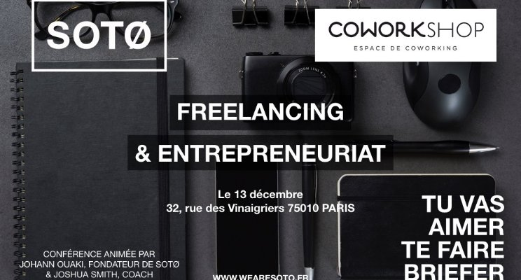 CadrEnglish meets SOTØ at CoWorkshop in Paris France