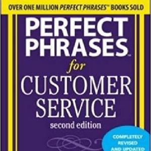 perfect phrases customer service robert bacal