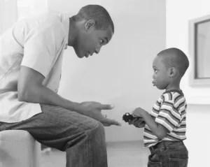 padre e hijo- proceso de enseñanza