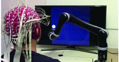 New breakthrough in the field of noninvasive robotic device control