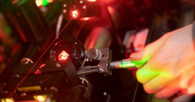 Scientists cool the nonlinear polyatomic molecule with a direct laser light to just above absolute zero.