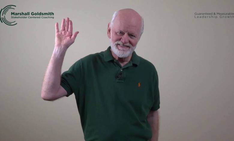 Photo of Marshall Goldsmith: The Best Leadership Advice You'll Ever Get