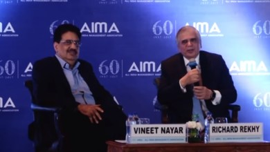 Photo of HR will be dead by 2020 (Full Video) – Vineet Nayar & Richard Rekhy at 14th National HRM Summit