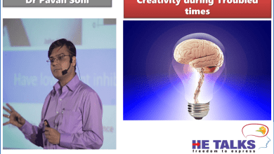 Photo of HE Talks : Creativity during Troubled Times by Dr Pavan Soni