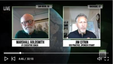 Photo of CEOs and Boards In The Time of Crisis – Marshall Goldsmith LIVE w/ CEO Jim Citrin