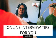 Photo of 7 Online Interview Tips: How to Get Hired Virtually
