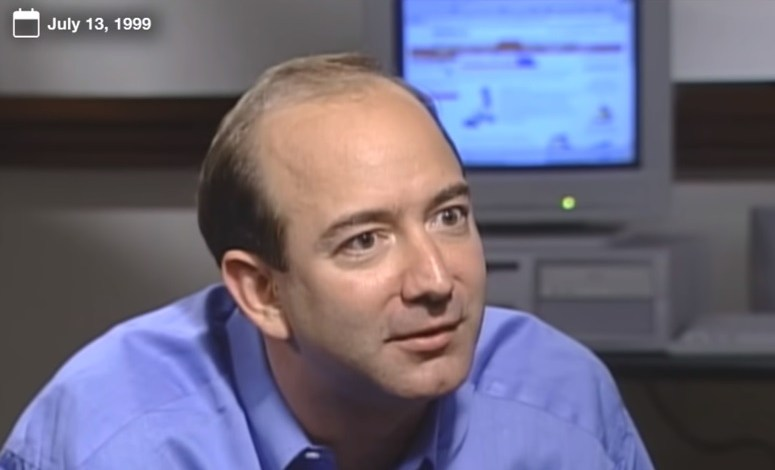 Photo of Jeff Bezos In 1999 On Amazon's Plans Before The Dotcom Crash