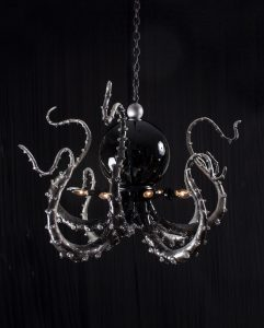 BLACK Pearl Chandelier