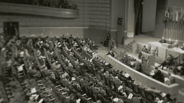 The San Francisco Conference, 1945.