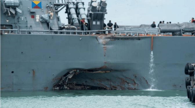 Did a User Interface Kill 10 Navy Sailors?