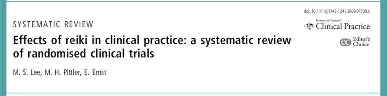 Ensayos clínicos aleatorizados en Reiki, revisados por Lee.