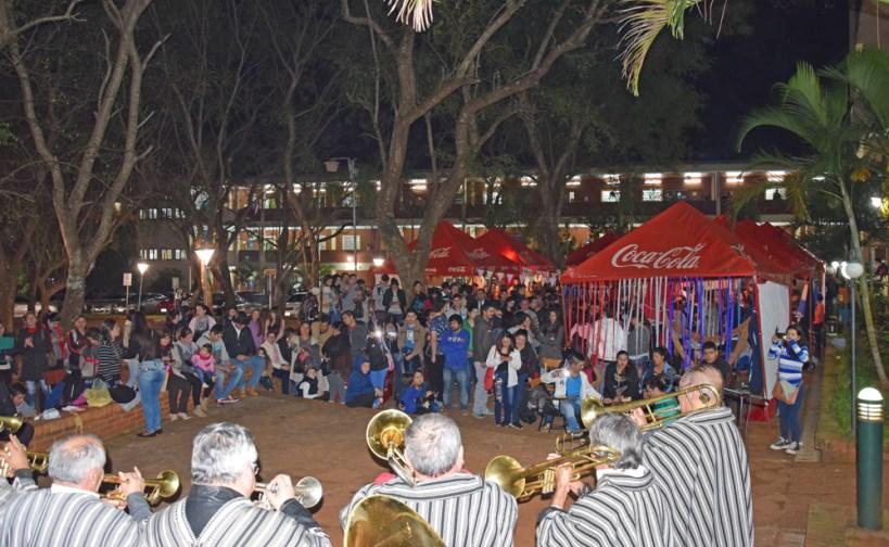 Tradicional festejo de San Juan Ara en Humanidades