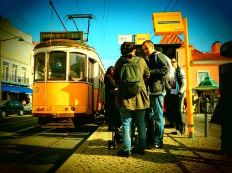 Le tram 28 !