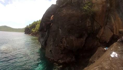 L'Escalade à Madinina – Où la grimpe au dessus des poissons !