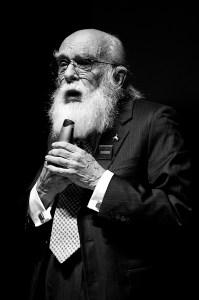 Tryllekunstneren James Randi er en populær skikkelse blant skeptikere, men ingen guru. Foto: Even Gran.