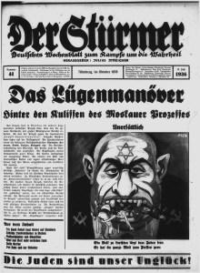 Det nazistiske bladet Der Stürmer var en smule antisemittisk.