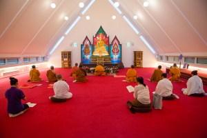 Buddhisttempelet Wat Thai er et lite stykke Thailand i Akershus. Foto: Marte Aubert