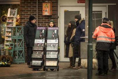 Jehovas vitners stand på Grønland torg i Oslo. Foto: Arnfinn Pettersen