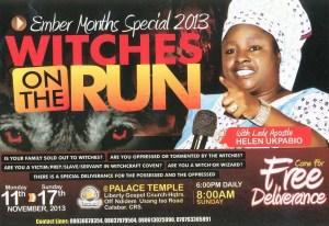 «The lady apostle», Helen Ukpabio, har spilt en avgjørende rolle i spredningen av forestillingen om heksebarn i Nigeria.