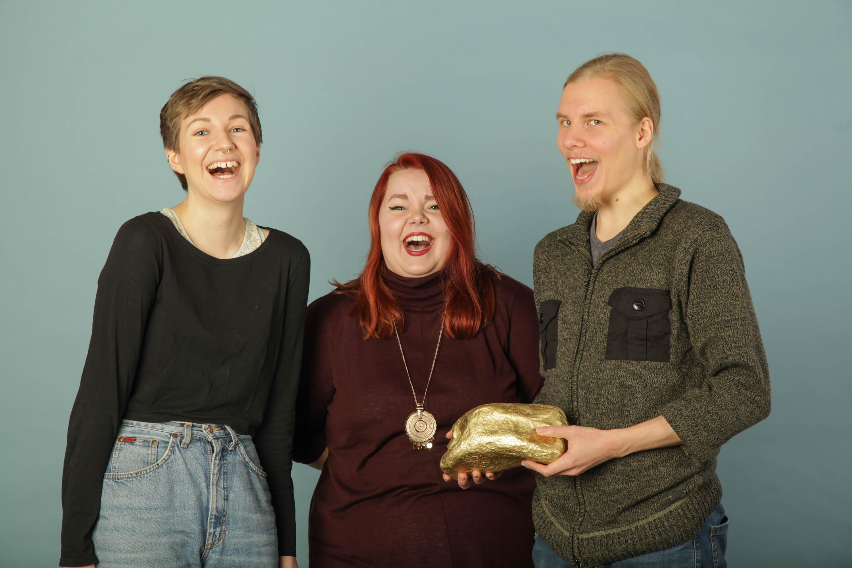 Ohjaajat: Vilma Kuikka, Elsi Vertanen ja Timi Ritvasalo