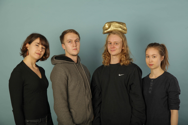 Valosuunnittelu: Ninni Aalto, Lauri Lindbohm, Heikki Nurminen ja Veera Tarmo