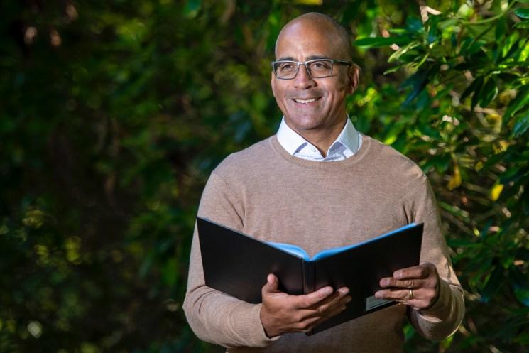 Humanist funeral celebrant David Atkinson
