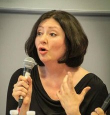 Maryam Namazie, who was prevented from speaking at a student event