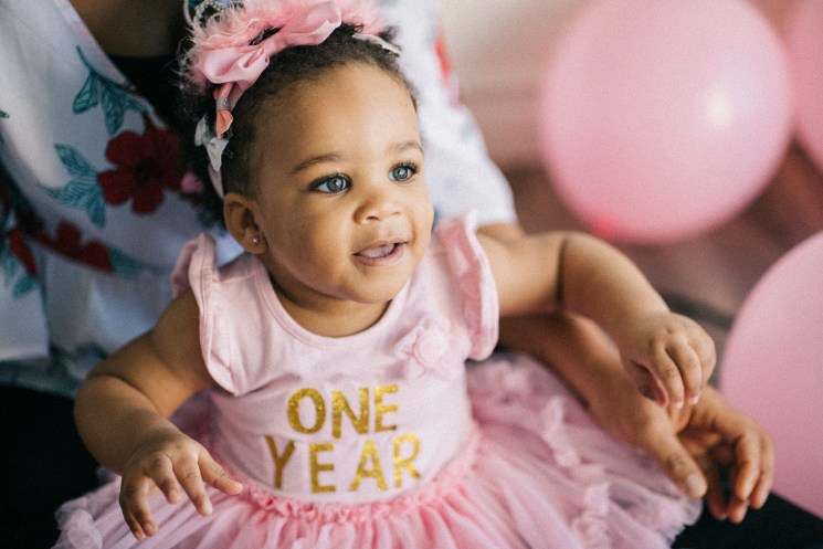 Naming ceremony and first birthday