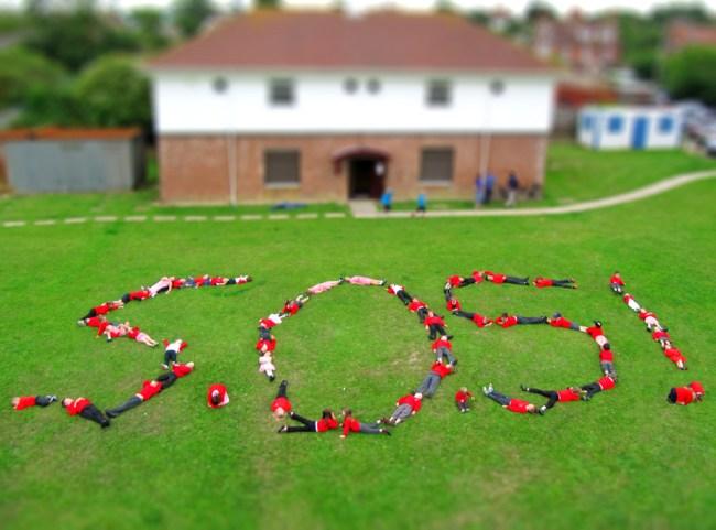 Children at Weston Primary School.