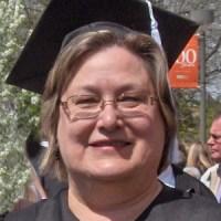 Bev at Graduation