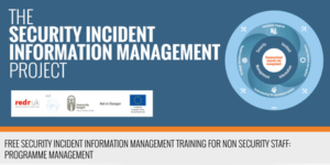 Security Incident Information Management training for HR staff
